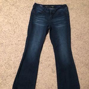 Seven7 booty shaper bootcut jeans